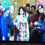 Diya lighting 44th giants convention Madurai